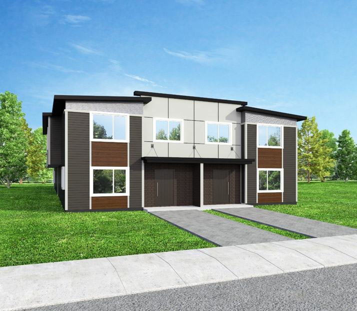 The Grove Townhouses, Brandon, Manitoba, south-end