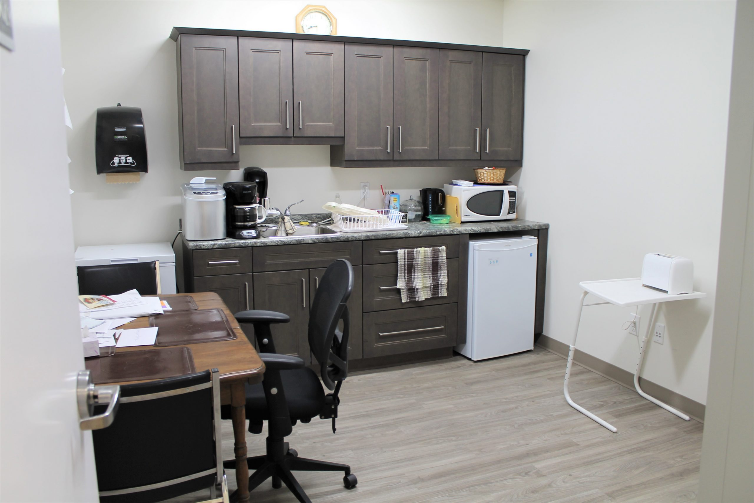 Staff room and kitchenette
